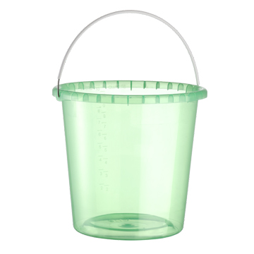 Cubetas de plastico transparente